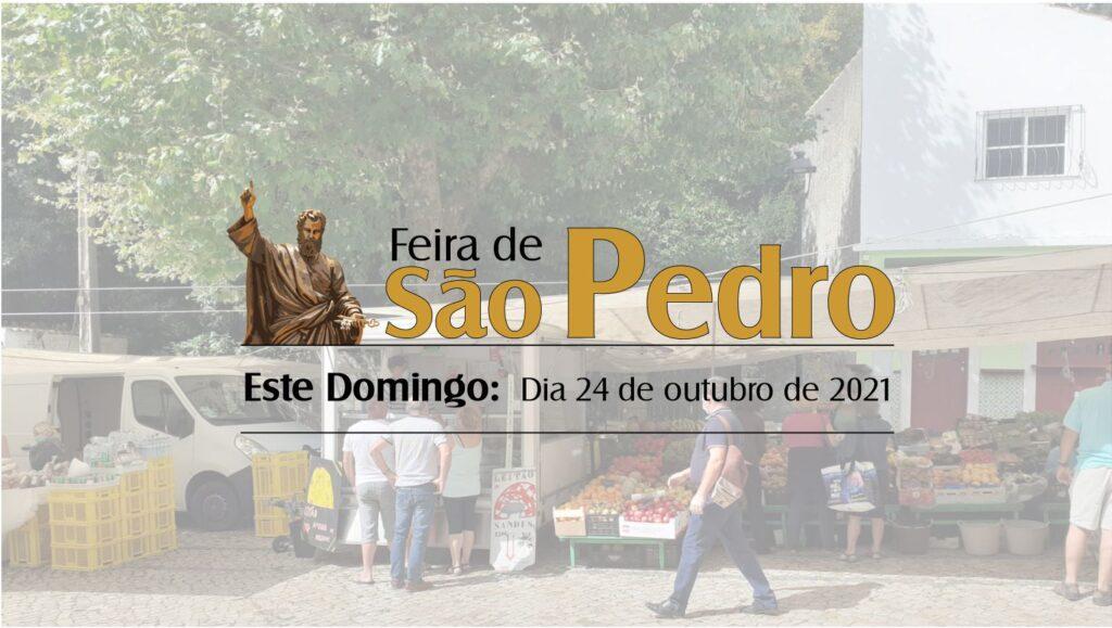 ESTE DOMINGO É DIA DE FEIRA EM SÃO PEDRO