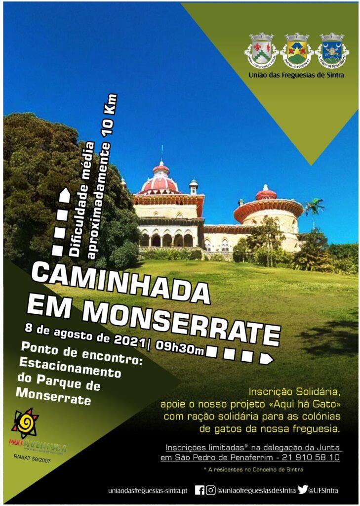 CAMINHADA EM MONSERRATE