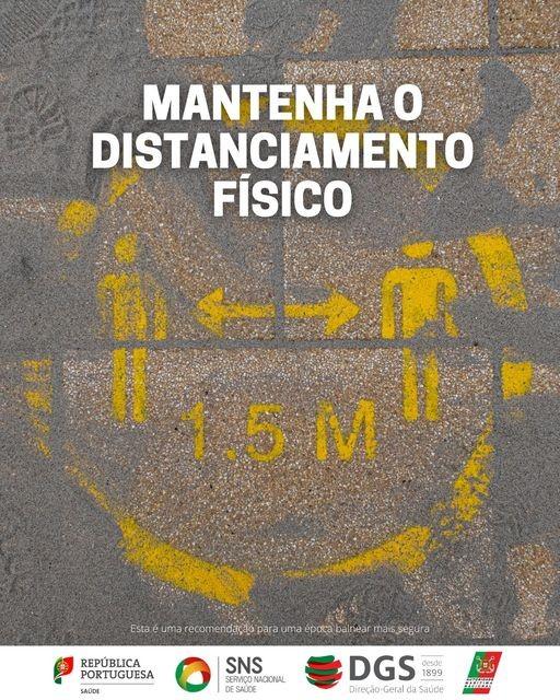 MANTENHA O DISTANCIAMENTO FÍSICO
